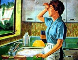 Housewife harried