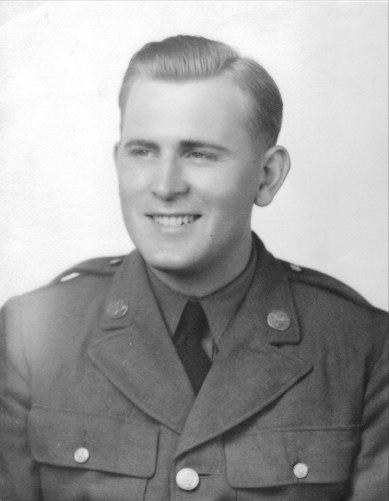 Vernon King - Staff Seargant 1942